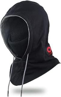 Tactical Balaclava Ninja Full Face Mask Winter Gear Windproof Fleece Lined Hood Hat