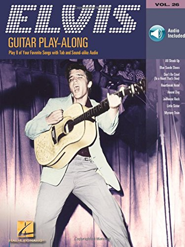 Gpa Volume 26 Elvis Presley Gtr Book/Cd: Noten, CD für Gitarre: Guitar Play-Along Volume 26