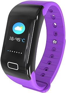 ZED- Reloj Inteligente, Smartwatch Impermeable IP68,Pulsera de Actividad Inteligente Pantalla a Color,Rastreador de Actividad GPS/Monitor de frecuencia Cardiaca Fitness Podómetro Android iOS