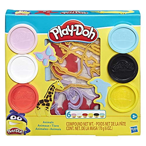 Play-Doh - Forme Divertenti, Multicolore, Animali