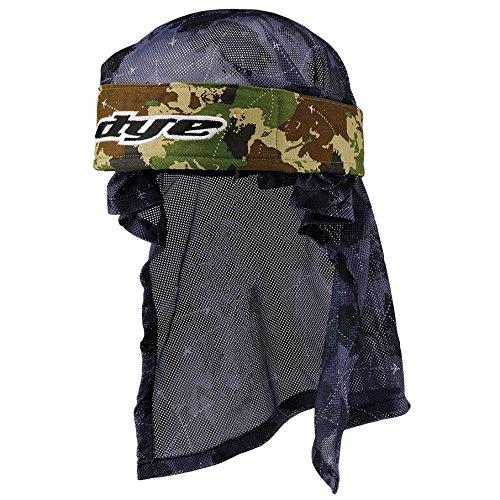 Dye Stirnband Head Wrap - Protecciones de Airsoft, Color Multicolor, Talla OneSize