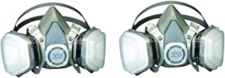 3M 07193 Dual svbzz Cartridge Respirator Assembly,Organic Vapor/P95, Large (2 Pack)