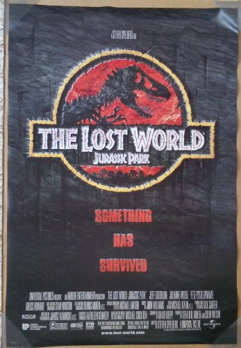JURASSIC PARK THE LOST WORLD MOVIE POSTER 2 Sided ORIGINAL INTL FINAL 27x40 STEVEN SPIELBERG