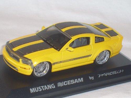 Norev Ford Mustang Cesam Parotech Gelb Tuning 1/43 Modellauto Modell Auto Sonderangebot