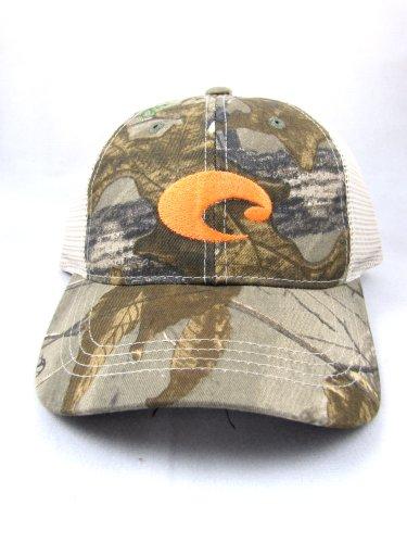 Costa Mesh Trucker Hat, Realtree Edge Camo + Stone
