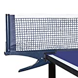 Luniquz Table Tennis Net and Post, Ping Pong Replacement Net and Post Set for Indoor & Outdoor Adults & Kids Play