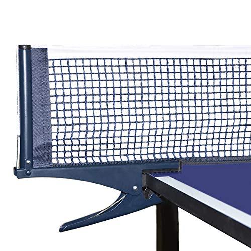 Luniquz Table Tennis Net and Post, Ping Pong Replacement Net and Post Set for Indoor Outdoor Adults & Kids Play