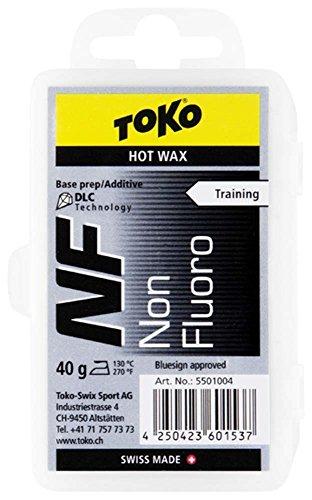 TOKO(トコ) スノーボード スキー用 ワックス ホットワックス NF 純パラフィン ブラック 120g 5502004