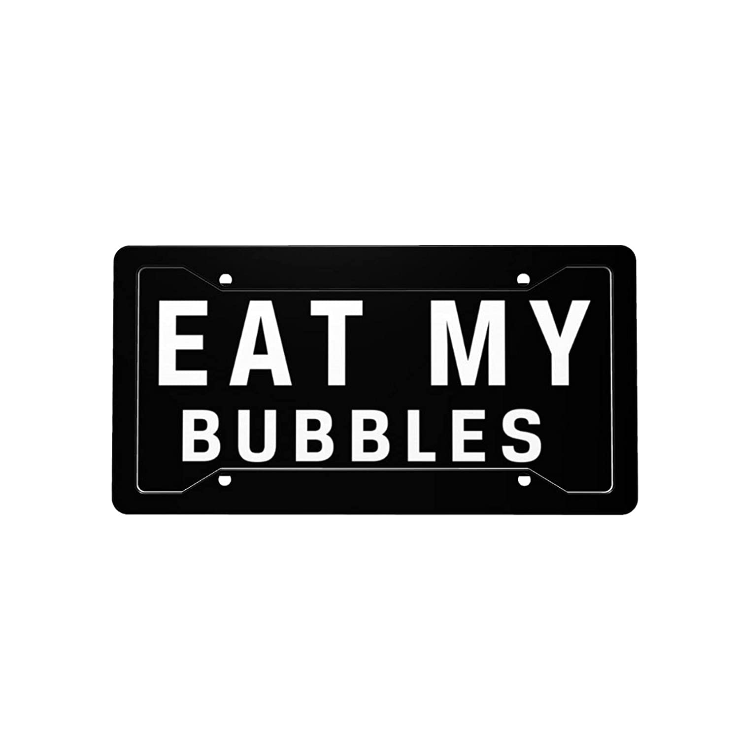 Eat My Bubbles Outstanding License Plate Decorative Front Car Vanity Licens Ranking TOP13