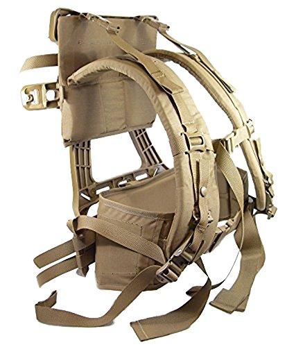 Eagle Industries US Army Military Marine USMC FILBE Gen II Coyote Complete Suspension Set System Shoulder Harness Assembly Straps + Waist Hip Belt + Frame GI