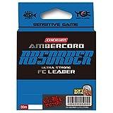 よつあみ(YGK) ショックリーダー チェルム アンバーコード アブソーバー ウルトラストロング FCリーダー フロロカーボン 30m 0.5号 2.8lb クリア