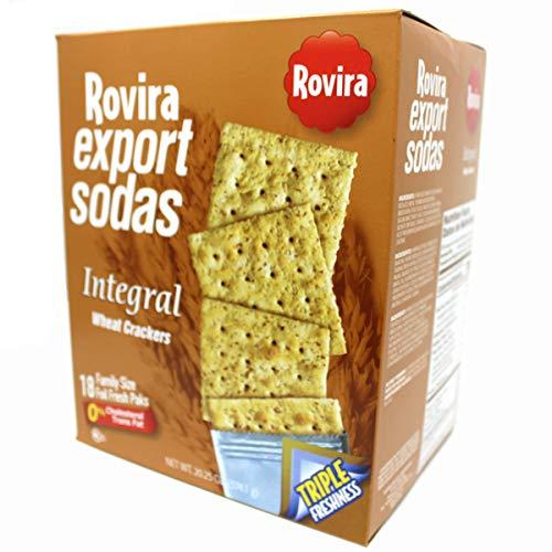 Rovira Export Sodas Variety - Classic, Lite, MultiGrain5, Butter (Wheat)