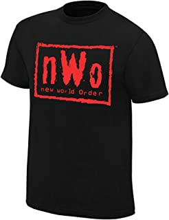 WWE AUTHENTIC WEAR NWO Wolfpac Black & Red T-Shirt 3XL