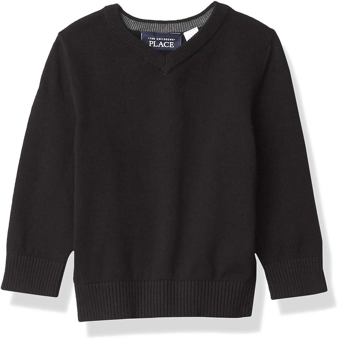 The Children's Place Boys' Toddler V Neck Sweater