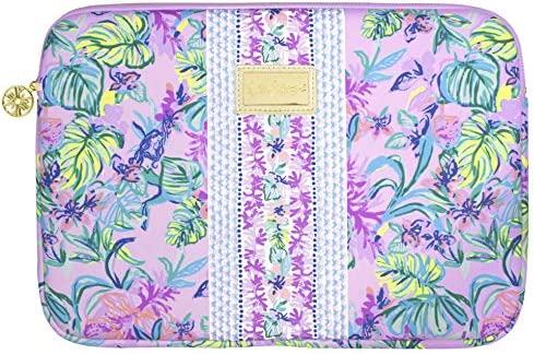 Lilly Pulitzer Soft Padded Tech Sleeve with Zip Close Laptop Case Fits up to 13 Inch Computer product image