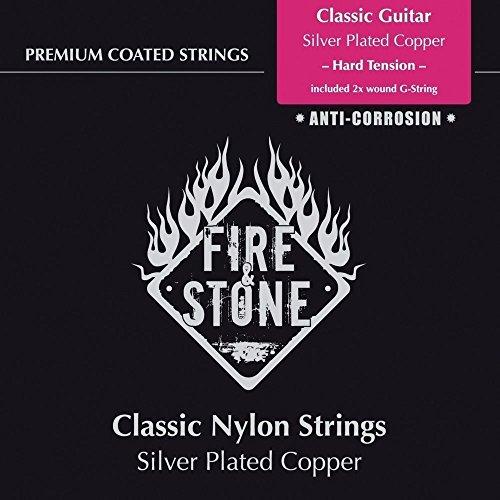 Fire & Stone 651890 Saiten für Klassik-Gitarre Fire & Stone Classic String Set - High tension