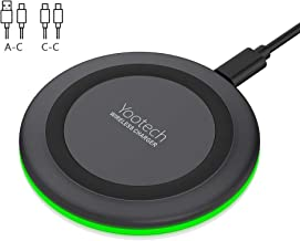 Yootech Wireless Charger,Qi-Certified 10W Max Fast...