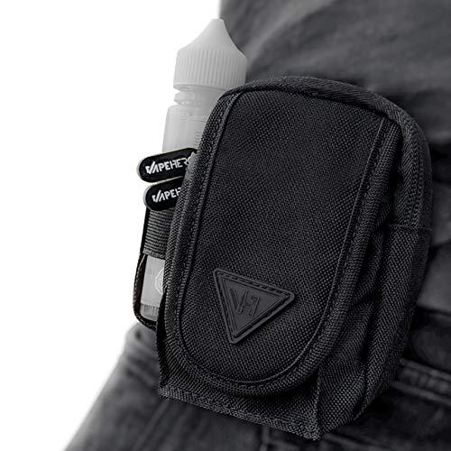 VapeHero® E-Zigaretten Gürtel- und Vape Hüft-Tasche | Immer dabei Mod, Liquid und Zubehör | komplett verschließbar | Wasserabweisend
