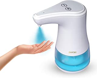 Zaicus Automatic Touchless Spray Disinfectant Sensor Wall Mount and on Table Top Hand Sanitizer Dispenser for Home Office ...