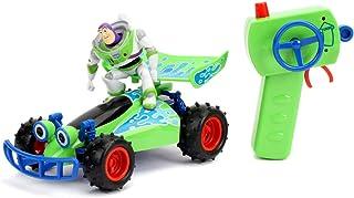 Disney Pixar Toy Story 4 Turbo Buggy W/Buzz Lightyear Radio Control Vehicle, 2.4 Ghz, 1: 24