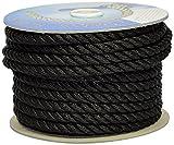 Gherlino Cima per ormeggio, Diametro 12 mm, 20 metri, Colore Nero