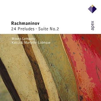Rachmaninov: 24 Preludes & Suite No .2v