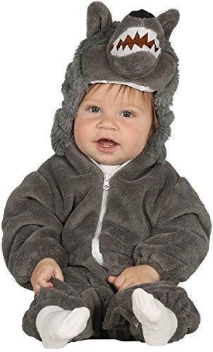 Fancy Me Baby Mädchen Junge Big Bad Wolf Kinderlied süß Halloween Kostüm Outfit Verkleidung 6-12-24 Monate - 12-24 monhts