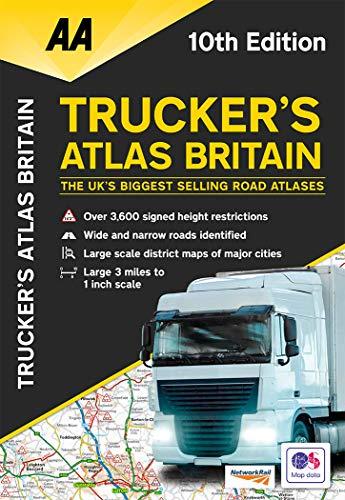 Trucker's Atlas Britain (AA Road Atlas Britain)