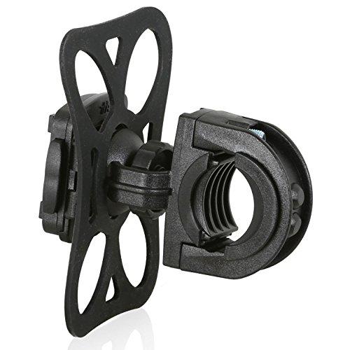 Wicked Chili Fahrrad/Roller / Lenker-Halterung für Garmin eTrex, Dakota, Oregon, Approach, Astro, GPSMAP (passgenau, QuickFix, Made in Germany)