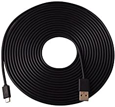 Omnihil Universal 30 Feet 2.0 High Speed USB Type A to Micro USB Cable 20AWG Max Power (Compatible with Many Models)
