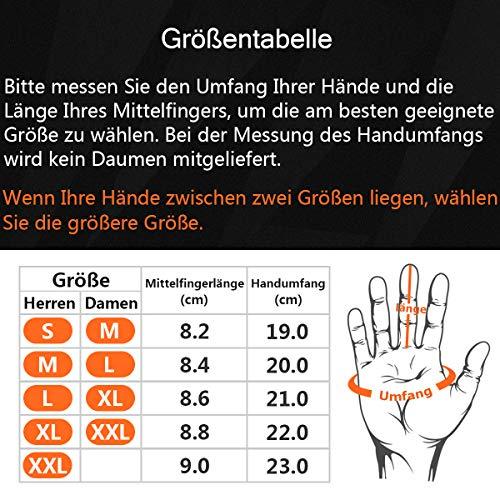 OZERO Touchscreen Winterhandschuhe, Thermo Fahrradhandschuhe & Laufhandschuhe für Herren und Damen - 6