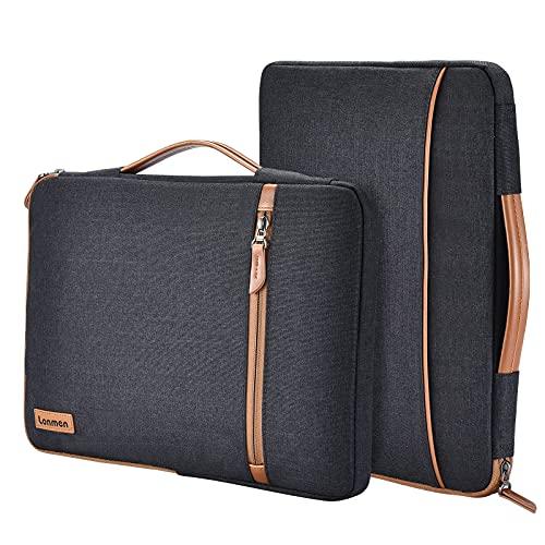 LONMEN 10.1 Zoll Laptop Sleeve Hülle Tasche Laptophülle mit Handgriff Kompatibel mit Apple 10.5