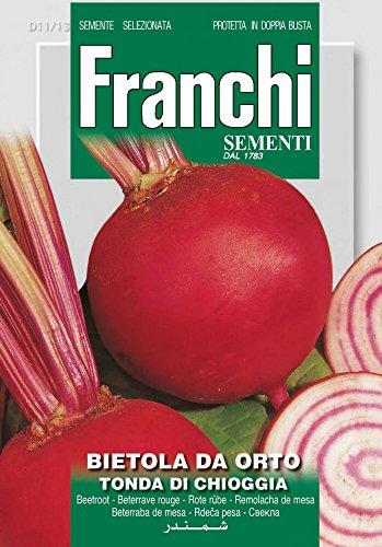 Franchi Sementi DBO11-13 Rote Bete Tonda Di Chioggia (Rübensamen)