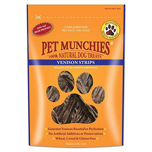 Pet Munchies Venison Dog Strips