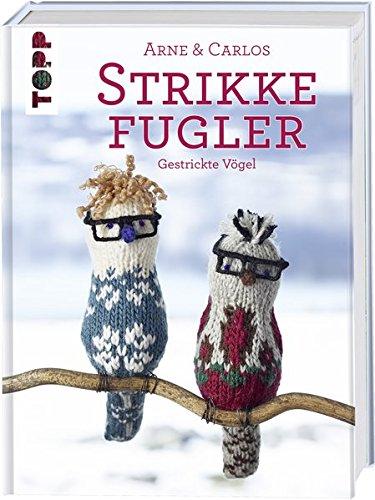 Strikke Fugler: Gestrickte Vögel