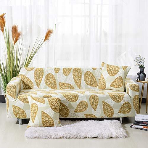 Fundas para sofá, Todo Incluido, seccional, en Forma de L, Funda de sofá elástica, Funda de sofá Completa para Silla de Sala de Estar/sofá de Dos plazas/sofá A18 de 3 plazas