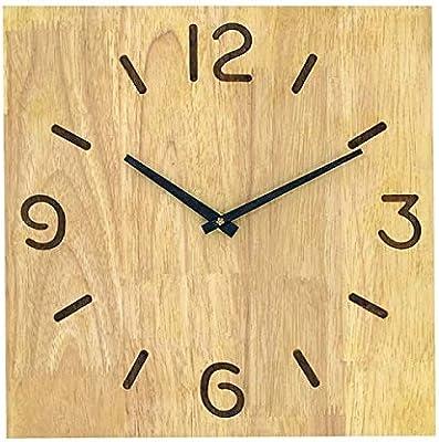 KAWEAZ Solid Wood Wall Clock Saat Reloj Clock Relogio De Parede Duvar Saati Horloge Digital Wall