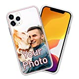Personalized Design Your Own Picture Photo Custom Customized Phone Case Cover Compatible with iPhone 6 6s 7 8 Plus SE 2020 X XS XR 11 12 Mini Pro Max Samsung Galaxy S9 S10 S20 S21