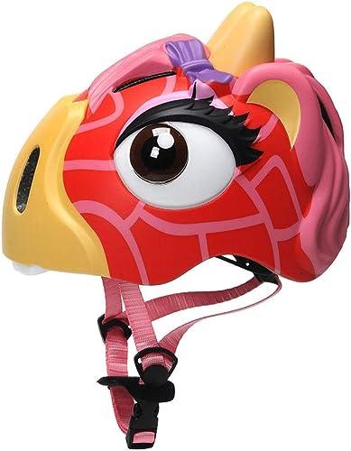 marca en liquidación de venta Gyl Casco para Niños - Casco para para para Niños-TKXTTKKL-3D Cascos De Dibujos Animados Juguetes De Seguridad Deportiva para Niños Ropa De Projoección-para Niños Regalos,rojo-M  tienda de bajo costo