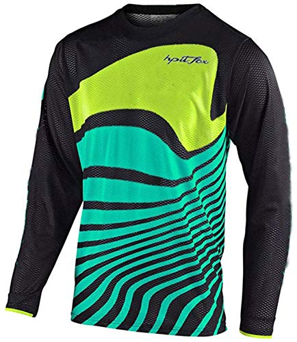 LuggageZHY Maillot MTB Chicos Motorcycle Mountain Bike Team Downhill Jersey MX Bicycle...