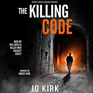 The Killing Code: A Scottish Crime Thriller cover art