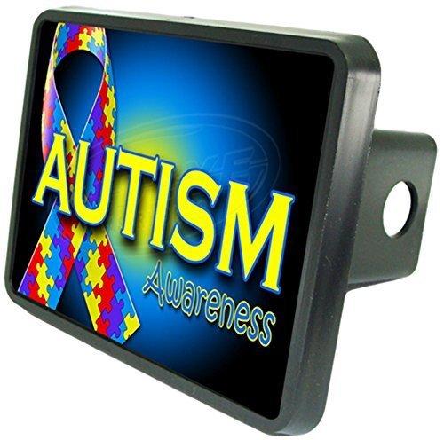 2 Hitch Plug Redeye Laserworks Autism Awareness