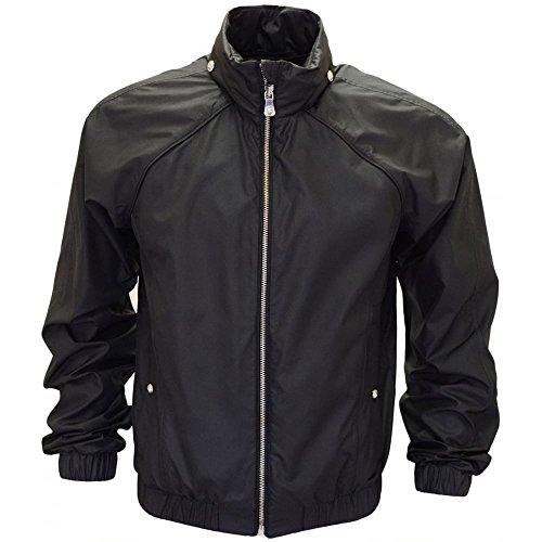 Versace Versus Zip Polyester-Jacke Schwarz Gr. 46 cm, Schwarz