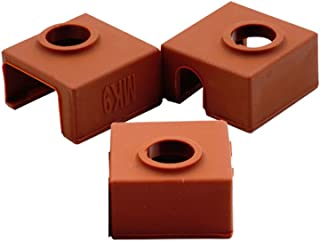 CCTREE 3D Printer Heater Block Silicone Cover MK7/MK8/MK9 Hotend for Creality CR-10,10S,S4,S5,Ender 3, Anet A8