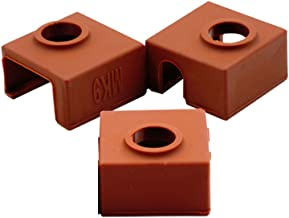 CCTREE 3D Printer Heater Block Silicone Cover MK7/MK8/MK9 Hotend for Creality CR-10,10S,S4,S5,Ender 3,Ender 3 Pro,Ender 5,CR-10 V2, Anet A8