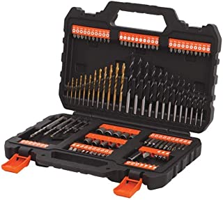 Black & Decker 109 Pieces Mixed Accessories Set, A7200-xj