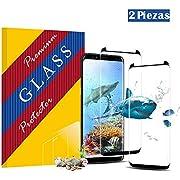 yingjiemaoyi Galaxy S9 Panzerglas Schutzfolie,3D temperierter Film [2 Stück] [9H Härte] [Ultra Klar] [Bubble-frei] [Anti Kratzen] Displayschutzfolie für Galaxy S9 (Galaxy S9-11)
