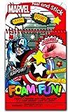 Bendon Marvel Super Heroes Foam Fun Activity Book by Bendon Inc.