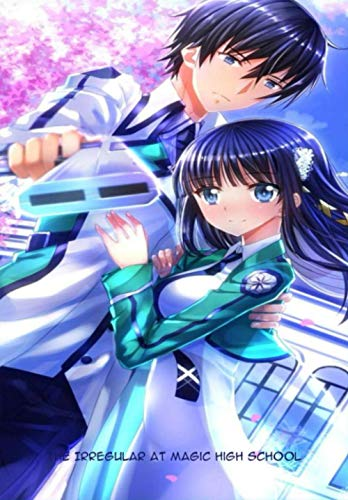 """The Irregular at Magic High School: Japanese Anime Gift For Teen Girls Boys Men Women, Anime Notebooks For School, Perfect For Drawing, Writing, To Do ... Lined Notebook (6.69""""x 9.61"""" In, 100 Pages)"""