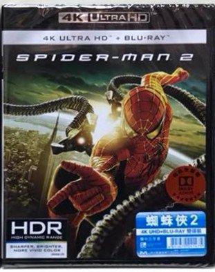 Spider-Man 2 4K UHD + Blu-Ray Hong Version sub High quality new Kong Chinese Ranking TOP2
